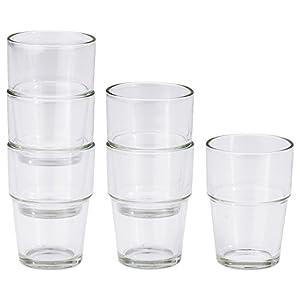 Reko / REKO glass / 6 piece [IKEA] IKEA (20137851) (japan import)