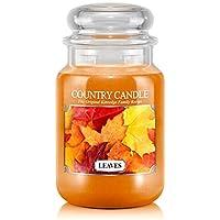 Kringle Leaves Jar Candles, Large, 623g