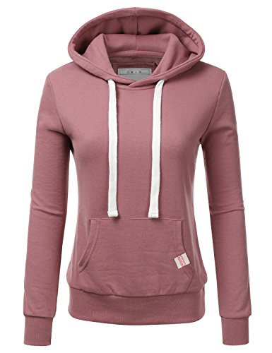 Fifth Parallel Threads FPT Womens Basic Pullover Fleece Hoodie