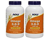 Now Omega 3-6-9 1000 mg, 485 Softgels (485 Count)...