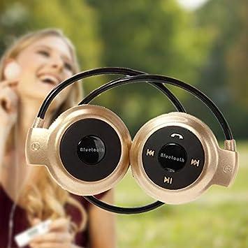 Mini 503 Auriculares inalámbricos Bluetooth Auriculares estéreo Auriculares Dorados-Asiproper: Amazon.es: Electrónica