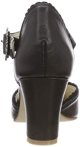 Black 002 Women's 3006833 Schwarz Hirschkogel Ankle Strap q8CAawn7x