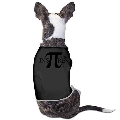 Jmirelife Puppy Dogs Shirts Costume Pets Clothing Math Small Dog Clothes Vest]()