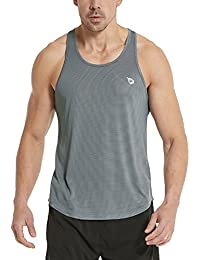 Men's Athletic Performance Stripe Tank Top