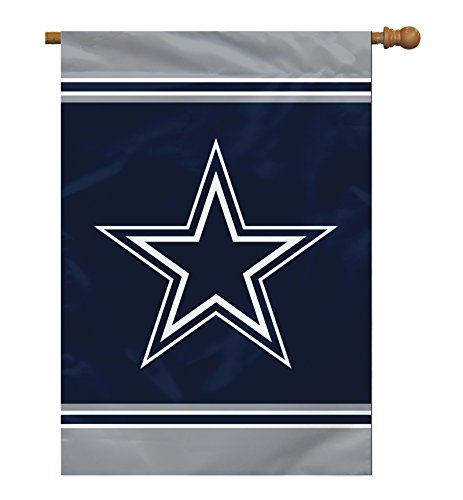 "NFL Dallas Cowboys 1 Sided House Banner, 28"" x 40""/Team for sale  Delivered anywhere in Canada"