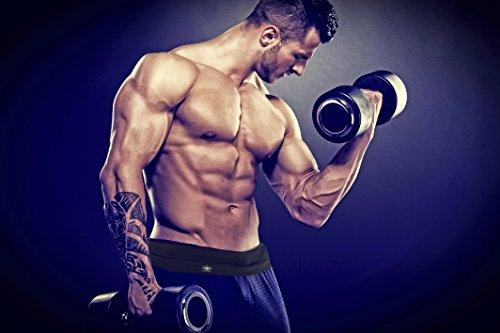 Elite Running Belt Spandex Fitness Pouch