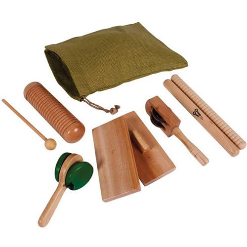 Wesco Educational Products Basic Natural Wooden Instrument Set
