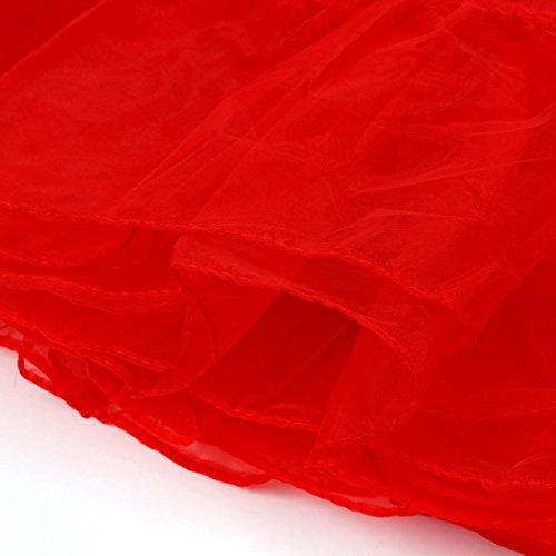 costumi Tutu per di '50 Party Cancan anni al Addio nubilato 1 Rosso ballo Rockabilly Donne Gonne Sottogonne Principesse Fotografia Lenfesh Retro Party qP8ppv