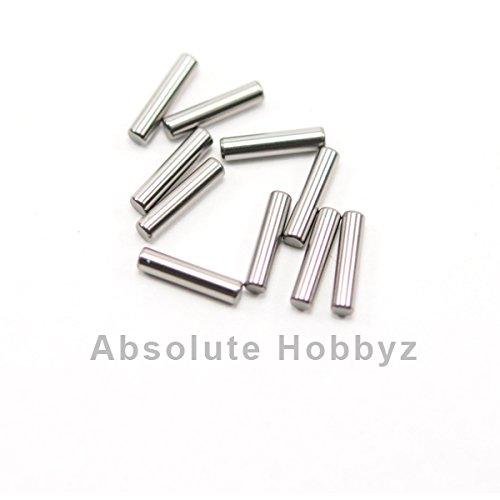 Mugen 2.2x9.8mm Universal Joint Pins (10)