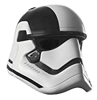 Rubie's Star Wars Episode VIII: The Last Jedi UNI-Sex Executioner Trooper 2-Piece Mask White/Black Adult Mask