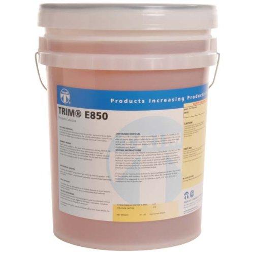 TRIM Cutting & Grinding Fluids E850/5 Premium Emulsion, 5 gal Pail