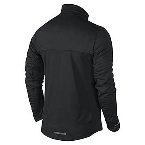 Nike Men's Element Shield Full Zip NF Black 802044 010 Size Large by Nike (Image #1)