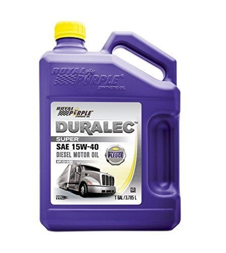 Royal Purple 04154 API-Licensed SAE 15W-40 High Performance Synthetic Motor Oil - 1 gal. (Case of 3) by Royal Purple