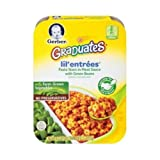 Lil Entrees Pasta Stars in Meat Sauce with Green Beans, 6.8 Ounce - 8 per case.