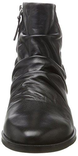 Royal RepubliQ Damen Prime Wrinkle Stiefel Schwarz (Black)