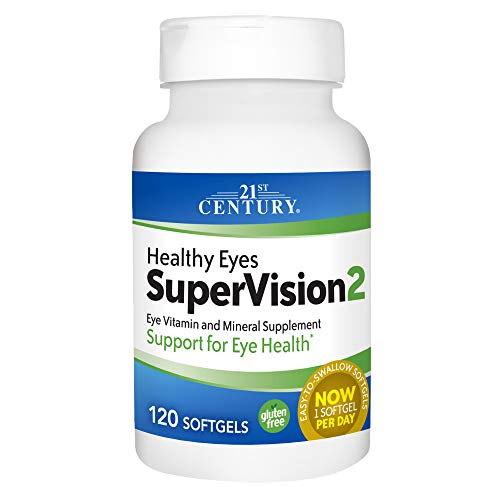 21st Century Healthy Eyes SuperVision2 Softgels, 120 Count