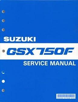 99500 37068 03e 1989 1997 suzuki gsx750f katana motorcycle service rh amazon com 2001 suzuki katana 750 owners manual suzuki katana gsx600f service manual