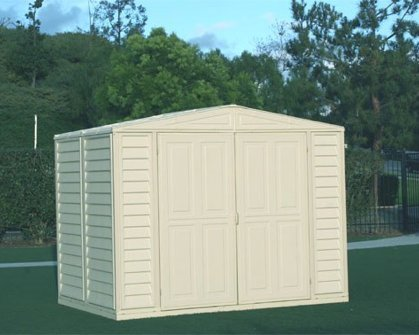 Metal Structured DuraMate Shed (8 ft. L x 8 ft. W) For Sale