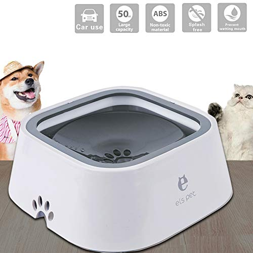Els pet Anti Gulping is the best Cat Water Fountain? Our review at cattime.com uncovers all pros and cons.
