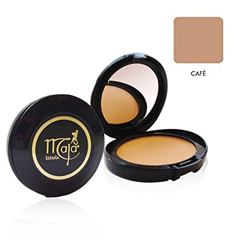 Maja Cream Powder Cafe .53 Oz. With Mirror-Polvo Crema Compacto Con Espejo