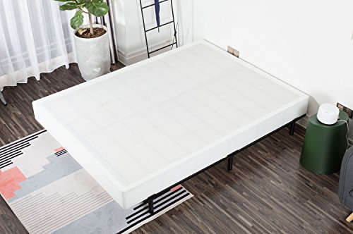 Noah Megatron 7 Inch Easy Assembly Required Box Spring, Strong Steel Structure Mattress Foundation Base, Noise Free Queen Boxspring - Low Profile Split Box Spring
