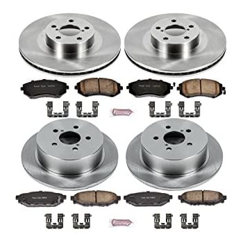 Autospecialty KOE408 1-Click OE Replacement Brake Kit
