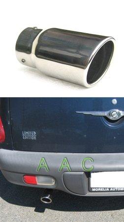Punta de escape de acero inoxidable w/acabado pulido espejo - Chrysler PT Cruiser 01 - 08 No Turbo: Amazon.es: Coche y moto