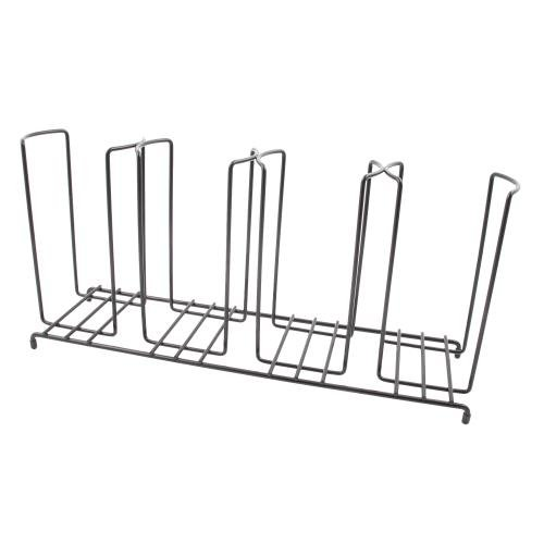 - DISPENSE-RITE WR-4 Dispense-Rite Four Section Wire Rack Cup and Lid Organizer, 8-1/2