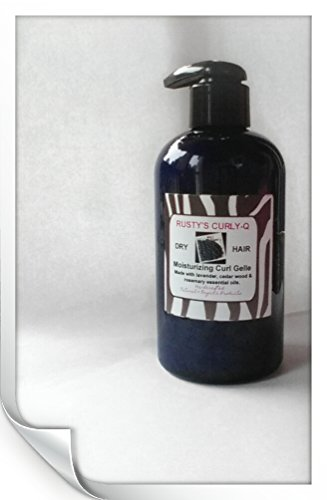 Moisturizing Curl Gelle Organic and Natural 8 oz by Rusty's Curly-Q