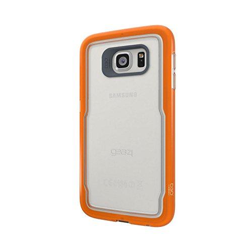 Galaxy S7 Edge用ギア4 GS7E60D3アイスボックスショックケース - オレンジ   B01C86DG40