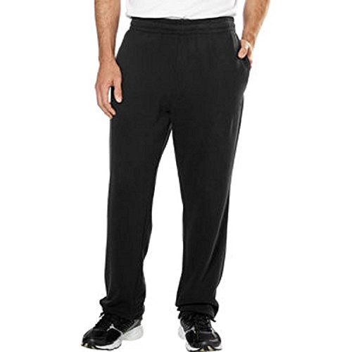 Fila Mens Fleece Pant-Black, Small