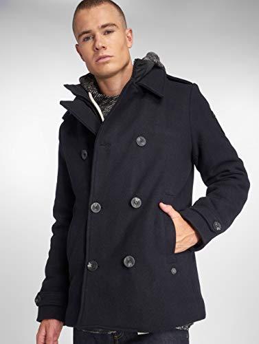 cappotto 481292 Industries Uomo Giacche Petrol Blu Wool py6wzWBq