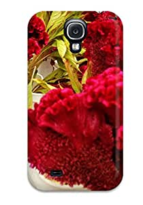 Forever Collectibles Fall Flowers Hard Snap-on Galaxy S4 Case