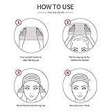 16 Pack Nylon Wig Caps, Teenitor 8 Pack Brown Skin