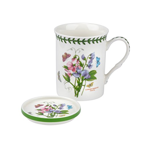 Portmeirion Botanic Garden Sweet Pea Mug and Coaster Set ()