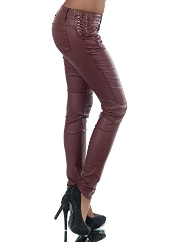 Basic Jeans Donna jeans Bordeaux Skinny Diva zpw0tqw