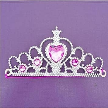 5 ~ SILVER TIARA PRINCESS CROWNS ~ GIRLS BIRTHDAY PARTY GIFT BAG FILLERS TOYS Huis