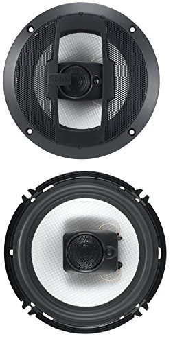 BOSS Audio R63 300 Watt (Per Pair), 6.5 Inch, Full Range, 3 Way Car Speakers (Sold in Pairs)