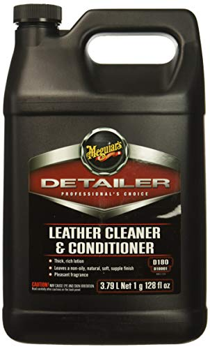 Meguiars Leather Conditioner - Meguiar's Detailer Leather Cleaner & Conditioner - 1-Gallon