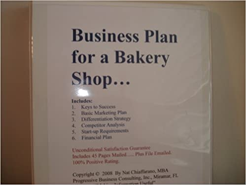 Business Plan For A Bakery Shop FillInTheBlank Business Plan
