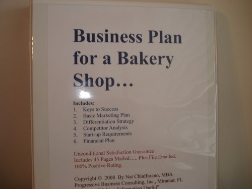 Business Plan For A Bakery Shop FillInTheBlank Business Plan For
