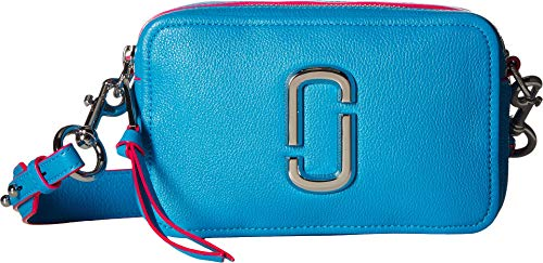 (Marc Jacobs Women's The Softshot 21 Bag, Bright Blue, One)