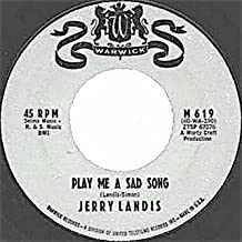 play me a sad song / it means a lot to them 45 rpm single