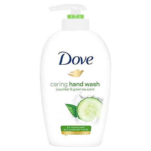 Dove Hand Soap - Dove Go Fresh Beauty Cream Wash - Fresh Touch Cucumber & Green Tea (250ml)