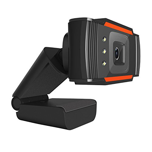 HD Webcam with Microphone, Desktop Portable Webcam for Computer by Bayin (Image #2)