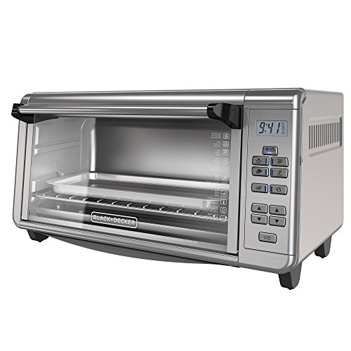 BLACK+DECKER TO3290XSD TO3290XSBD Toaster Oven, 8-Slice, Stainless Steel by BLACK+DECKER (Image #9)
