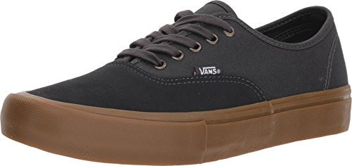 - Vans Men's Authentic Pro Skate Shoe (7.5 D(M) US, Asphalt Grey Gum)