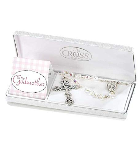 To My Godmother Rosary in Gift Box