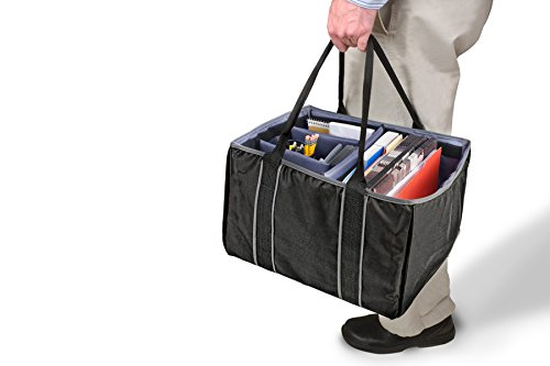 AutoExec AETote-09 Black/Grey File Tote with One Cooler and One Tablet Case by AutoExec (Image #12)