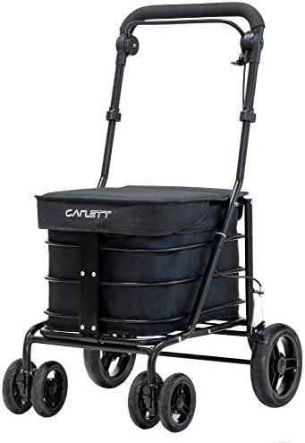 Carlett Carro DE Compra Negro, 84x49x91 cm: Amazon.es: Salud y ...